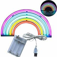XIYUNTE Rainbow Light Neon Signs - Regenbogen