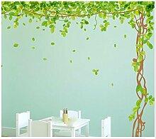 XJKLFJSIU Großer Schlafzimmer Wandaufkleber Restaurant Cherry Tree Wand Aufkleber Kinderzimmer Wandaufkleber , B8