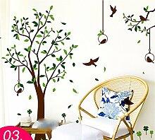 XJKLFJSIU Kreative Aufkleber Wand Raum Raum Korridorwand Hintergrund Schlafzimmer Aufkleber Aufkleber Diy Kreative Wand Leben, A3