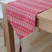 XJKLFJSIU-Table Vintage-Tischläufer Couchtisch