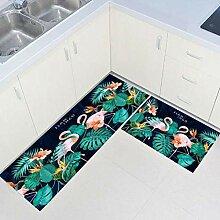 XJLXX Küchen-Antirutschmatte - Bedruckte