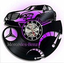 xjm Black Gum Clock Mercedes-Benz Autokratische