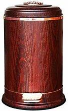 XJRHB Red Holzmaserung Mülleimer hochwertige