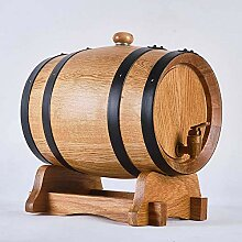 XJZKA 5L Weinregal aus Holz, Fässer aus