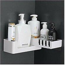 XJZKA Kunststoff Badezimmer Caddy drehbare Dusche