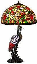 XKHG Nachttischlampe,Tiffany Tischlampe,20 Zoll