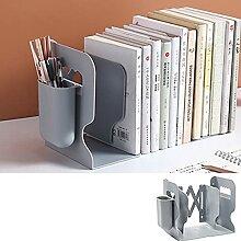 XKMY Bücherregal, groß, verstellbar, Bürotisch,