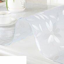 XKQWAN Pvc Weichglas tischdecke Teetisch matten