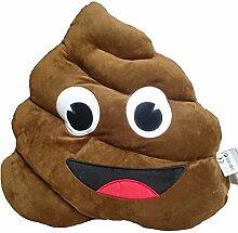 XL Emoji Emoticon Smilie Plüsch Kissen Poo,
