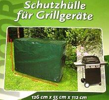 XL Grillschutzhülle 126 x 55 x 112 cm Abdeckhaube