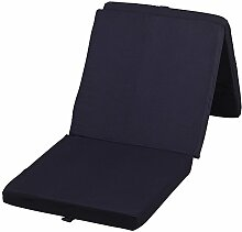 XL Klappmatratze Faltmatratze Gästebett schwarz mit Ökotex-Standard 195 x 80 x 10 cm