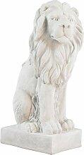 XL Löwe Skulptur Figur Statue Garten Haus