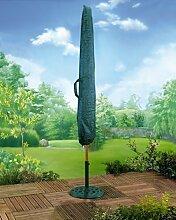 XL Sonnenschirm Abdeckung Sonnenschirm Schutzhülle reißfest 190cmx43 cm wetterfest 130 gsm
