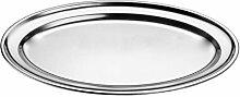 XL Tablett 50x35cm Oval Partyplatte Servierplatte
