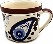 XL Tasse Kaffeetasse Teetasse Geschirr Keramik Bemalt Bunt - Gall&Zick