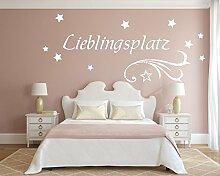 XL Wandtattoo für Ihr Schlafzimmer 68011-130x55