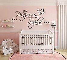 Wandtattoo Kinderzimmer Prinzessin Günstig Online Kaufen Lionshome