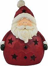 XL Weihnachtsdeko Santa mit LED Farbwechsel