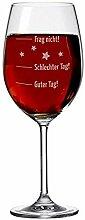 XL Weinglas mit Gravur von Leonardo / 630ml mit