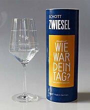 XL Wie war Dein Tag-Weinglas (1x 540ml Glas) von