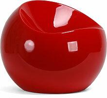 XLBoom - Ball Chair, rot