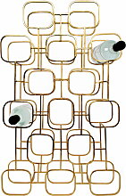 XLBoom - Gavi Wine Rack, 15 / messing