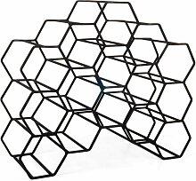 XLBoom Pico Weinregal Large Schwarz (b) 48 X (t)