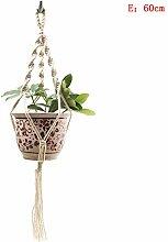 XLHZKAL Gartenwerkzeuge,Handgemachte Makramee