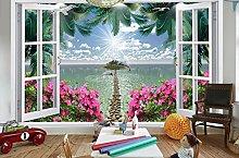 XLi-You 3D Tapete Fresko 3D Wallpaper Meer