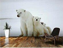 XLi-You 3D Tapete Fresko Benutzerdefinierte Bear