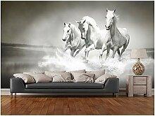 XLi-You 3D Tapete Fresko Benutzerdefinierte Pferde
