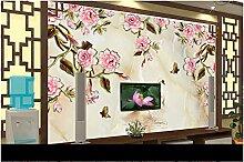 XLi-You 3D Tapete Fresko Custom 3D Wallpaper Rosen