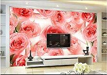 XLi-You 3D Tapete Fresko Custom Floral Romantisch