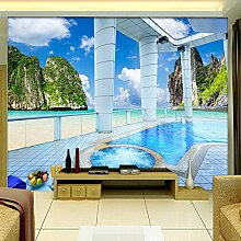 XLi-You 3D Tapete Fresko Custom Photo Wallpaper 3D