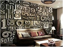 XLi-You 3D Tapete Fresko Custom Vintage Wallpaper