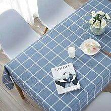 XLLX PVC- Tischdecke für Haushalt und Leinen aus