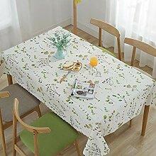 XLLX PVC-Tischdecke für Haushalt und Leinen,