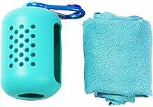 XLLX Sporthandtuch, Mini-Handtuch, Kühlhandtuch,