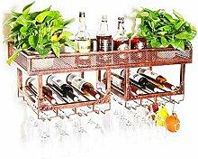 XLTFZY Weinregal, Weinglas-Rack, Bar, Nachtclub,