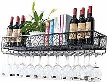 XLTFZY Weinregal, Weinglasregal, Bar, Nachtclub,