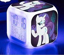 XLZZLDZ Wecker Pinkie Pie LED Wecker Digitaluhr