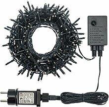 Xmas King Lichterkette 13,1 m, 180 Mini LEDs rot,
