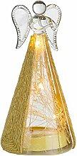 XMAS LED Tisch Dekoration Lampe mit goldfarben