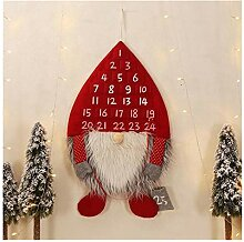 XMCHE Hot Weihnachtsdeko Adventskalender Wald Mann