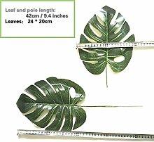 XMDNYE Künstliche Pflanzen Grünes Blatt