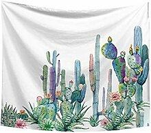 Xmiral Tapestries Einfach Kaktus Gedruckte