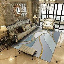 xmydeshoop Design Teppiche,Gold Linie