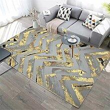 xmydeshoop Design Teppiche,Moderne Golddicke Linie