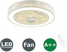XMYX Fan Deckenventilator LED Deckenleuchte