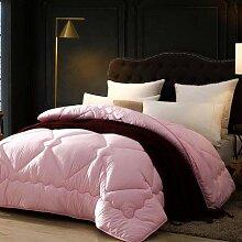 XMZFQ Microfaser-Bettdecke aus 100% Reiner Wolle,